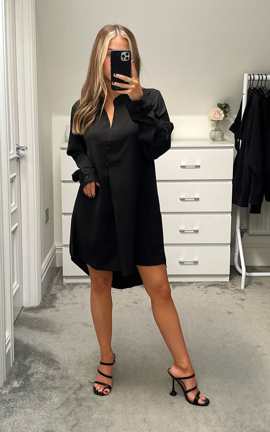 Ursa Oversized Shirt Dress