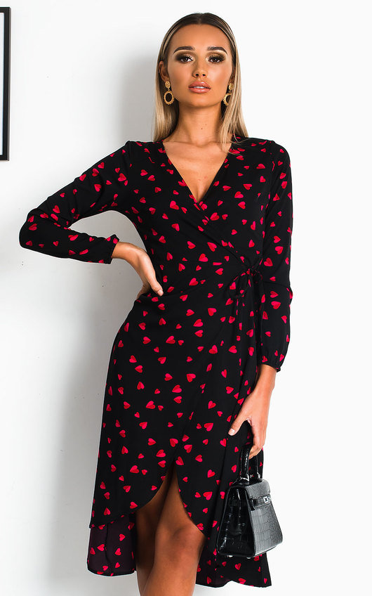 Valentina Wrap Midi Dress