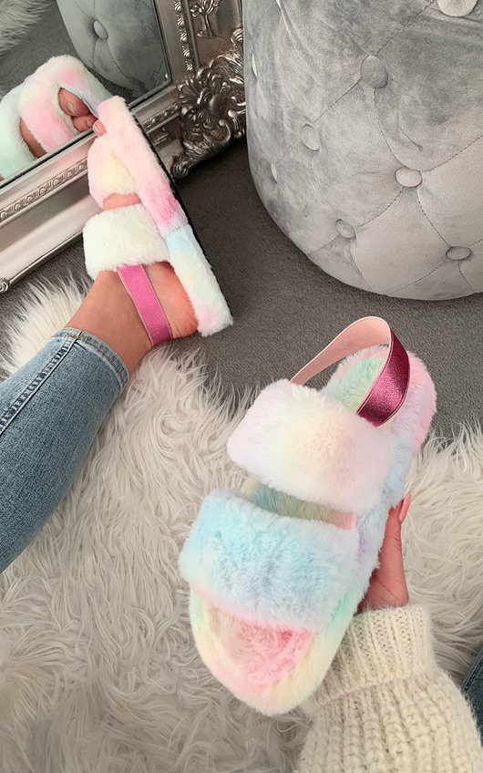 Valerie Faux Fur Slippers