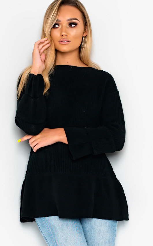 Vanya Long Sleeved Knit Dress