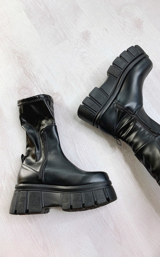 Vanya Mega Chunky Boots