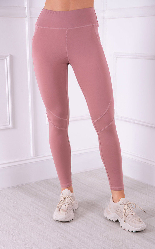 Vee Workout Activewear High Waisted Leggings
