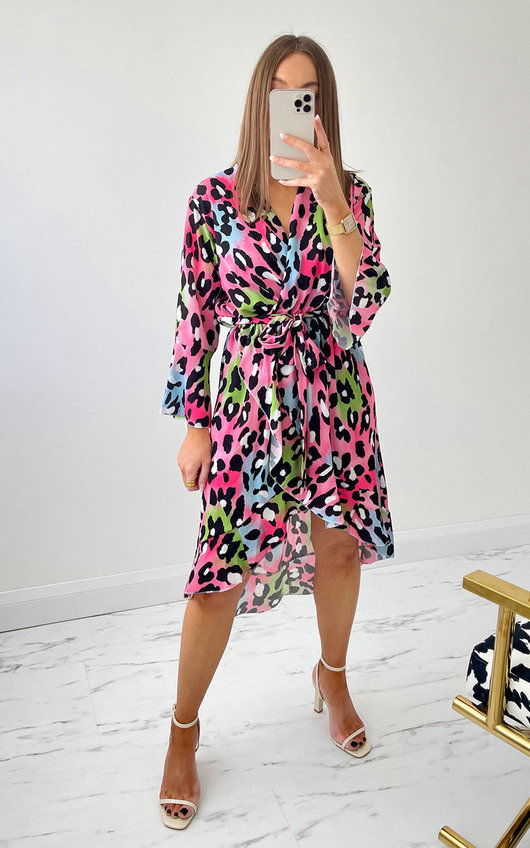 Velma Printed Midi Dress