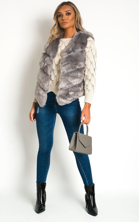 Verity Faux Fur Gilet