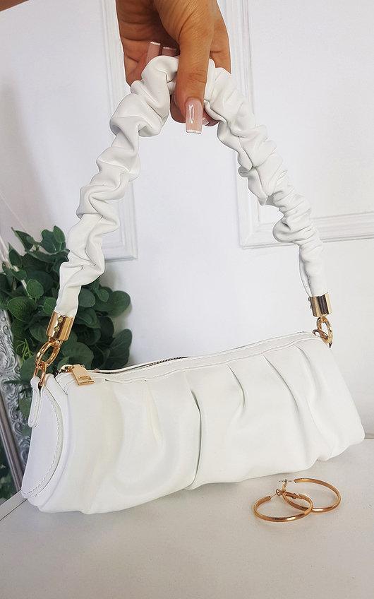 Verona Ruched Detail Handbag