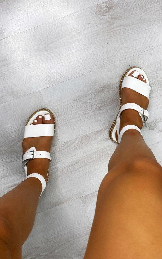 Veronika Stud Detail Sandals