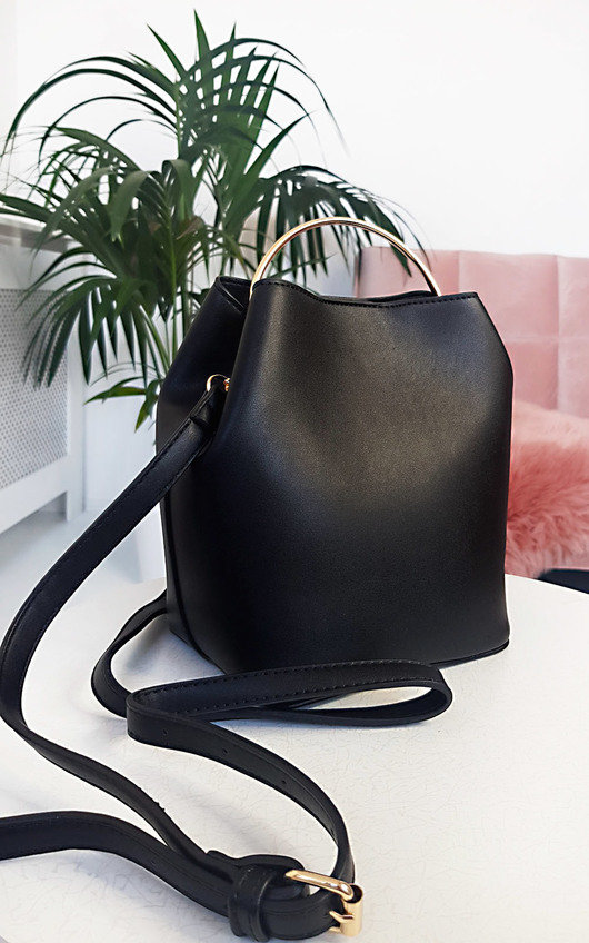Vita Ring Handle Bucket Bag