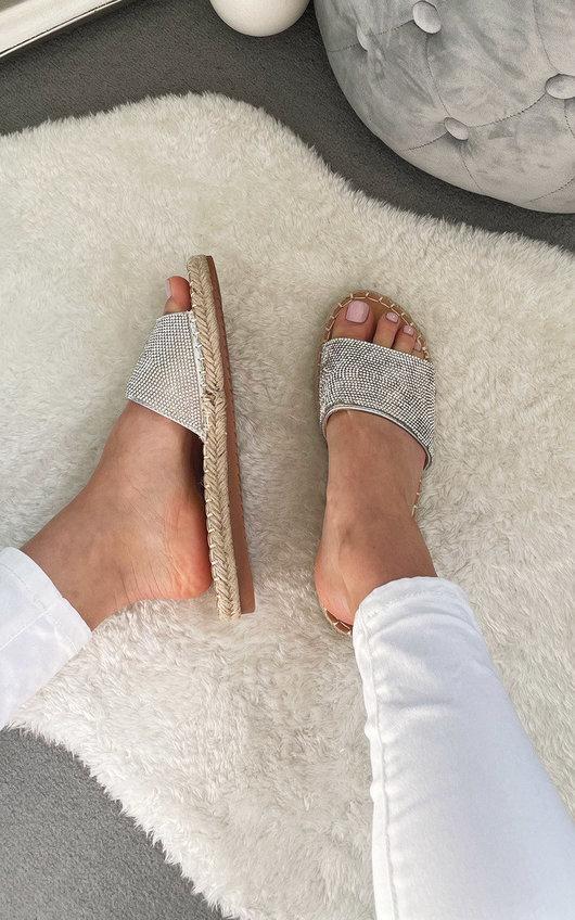 Waverly Diamante Sliders