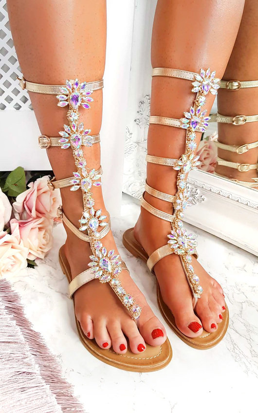 c1fb4454d85f Willow Embellished Gladiator Sandals Thumbnail