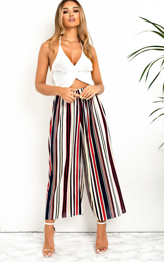 Willow Ribbed Culotte Trousers
