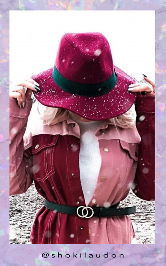 Winnie Colour Block Denim Jacket