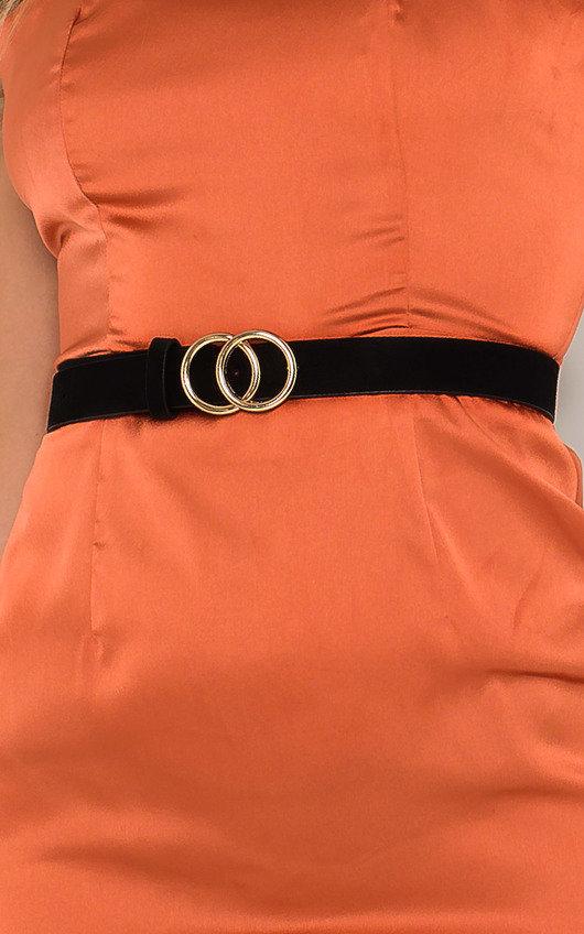 Winnie Double Circle Buckle Belt