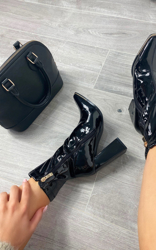 Winnie Heeled Ankle Boots