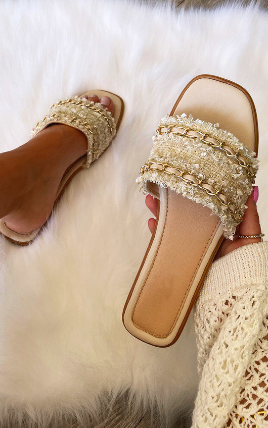 Winona Chain Detail Sandals