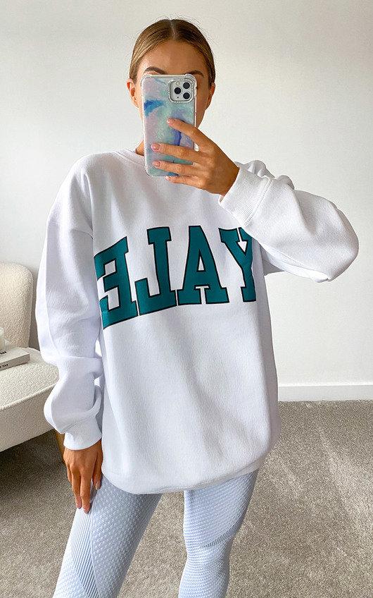 Yale Slogan Sweatshirt
