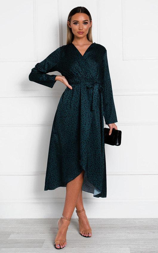 Yana Printed Floaty Maxi Dress