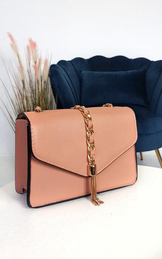 Yanni Faux Leather Shoulder Bag