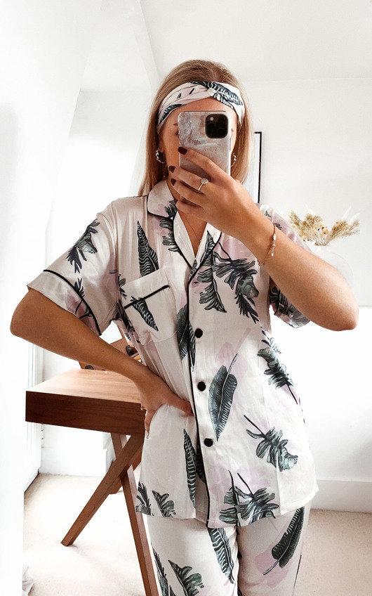 Yasmine Printed Pyjama Co-ord