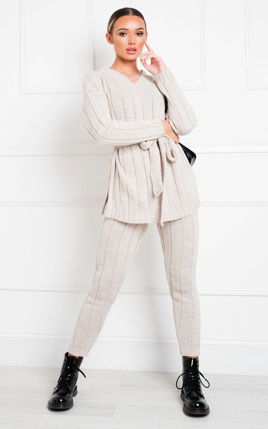 Yazmine Cable Knit Lounge Co-ord