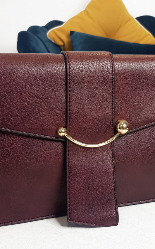 Yazzi Faux Leather Handbag