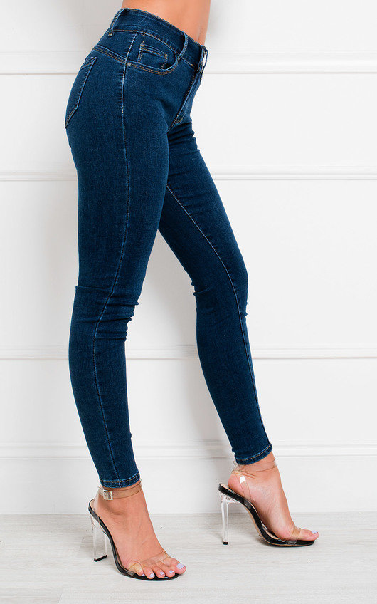 Yonce  Skinny Boost Up Denim Jeans