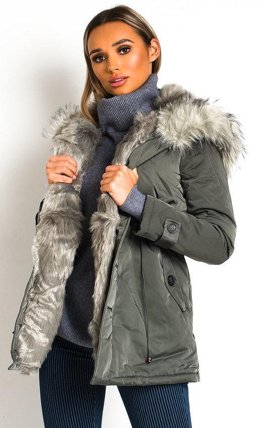 Yuki Padded Hooded Longline Puffer Jacket