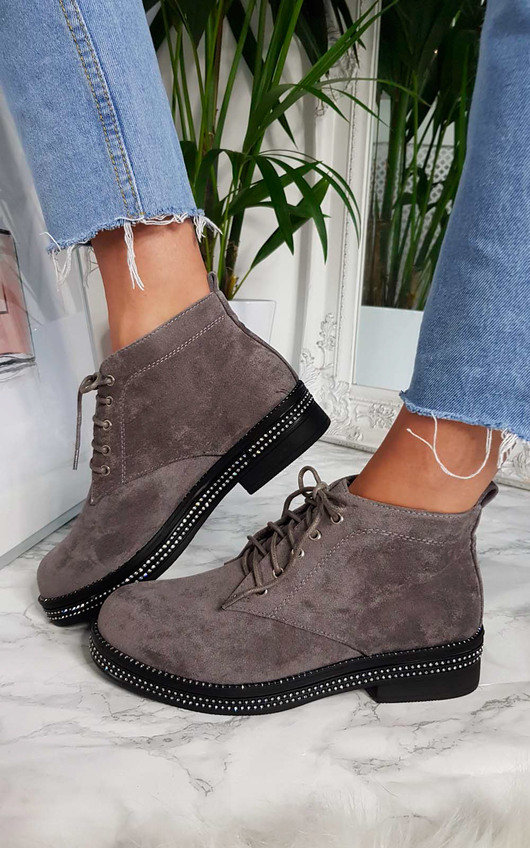 Zach Lace Up Ankle Boots
