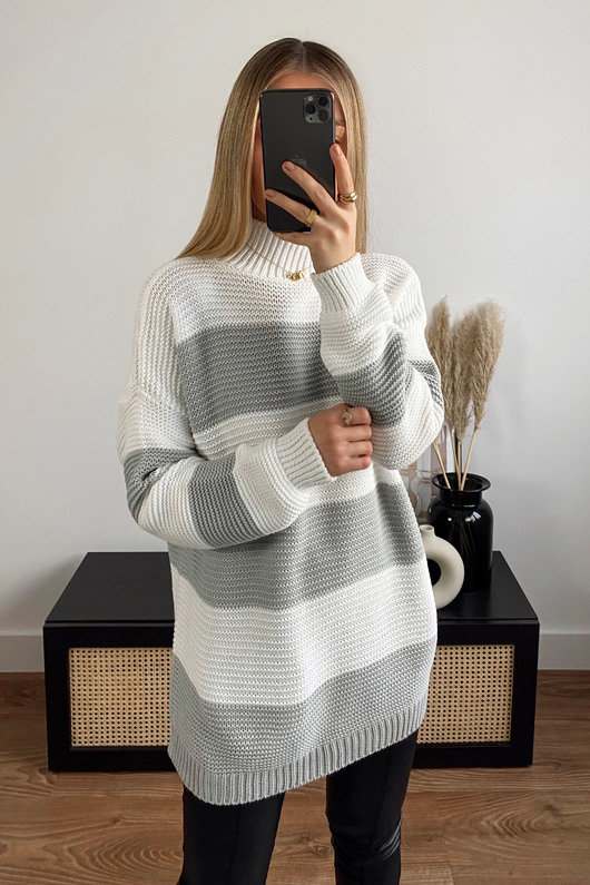 Zana Striped Knit Jumper