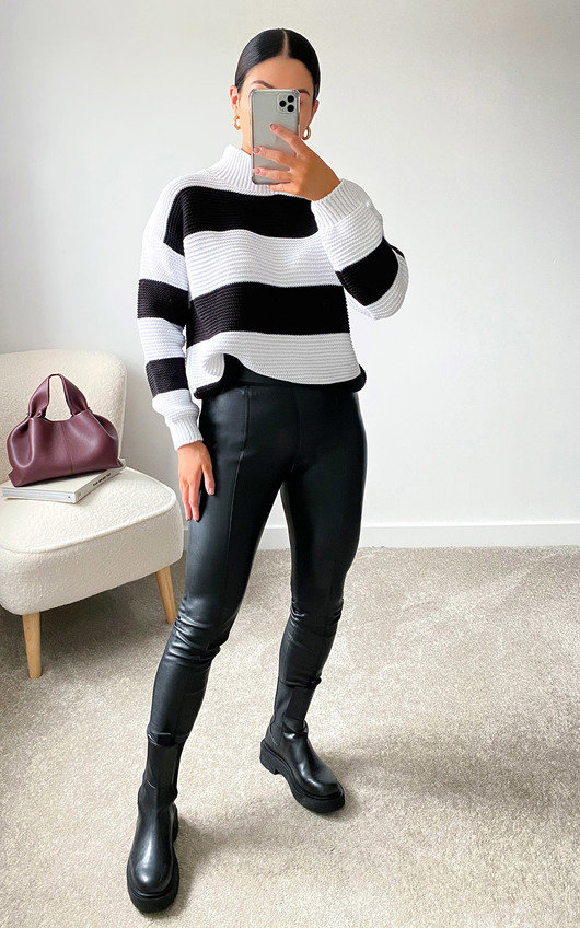 Lauren Striped Knit Jumper