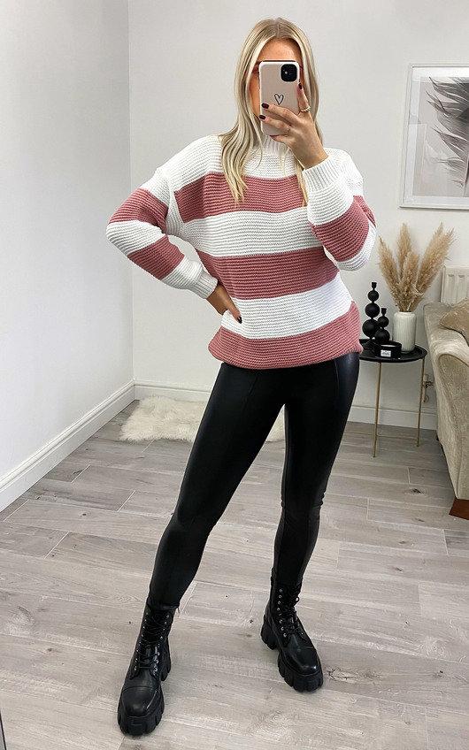 Zana Striped Knit Jumper