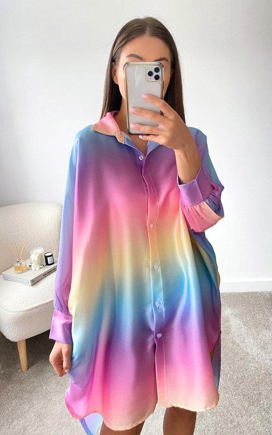 Zara Oversized Shirt Dress