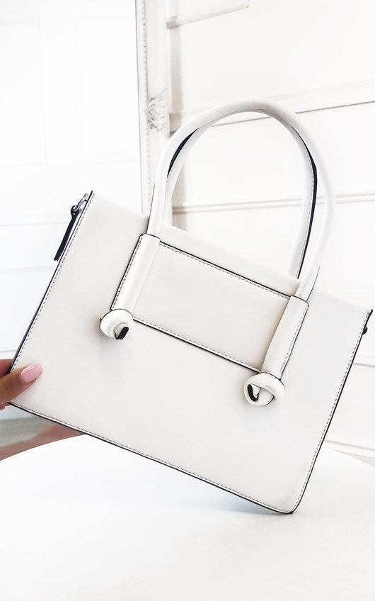 Zaz Faux Leather Handbag
