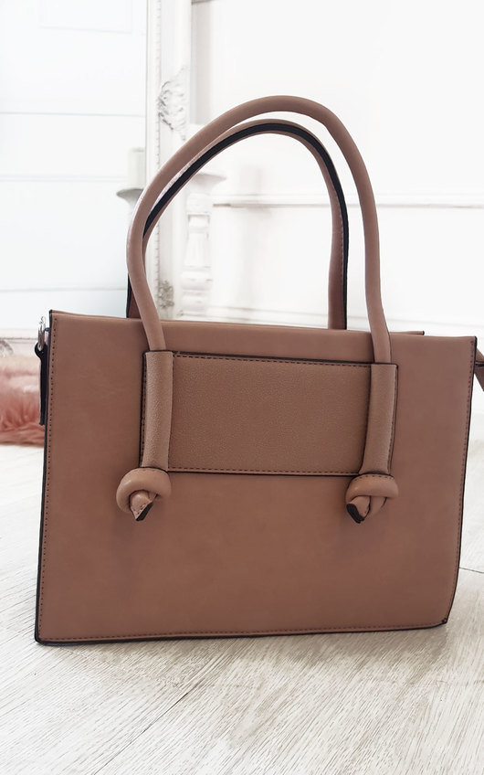 Zaz Faux Leather Handbag