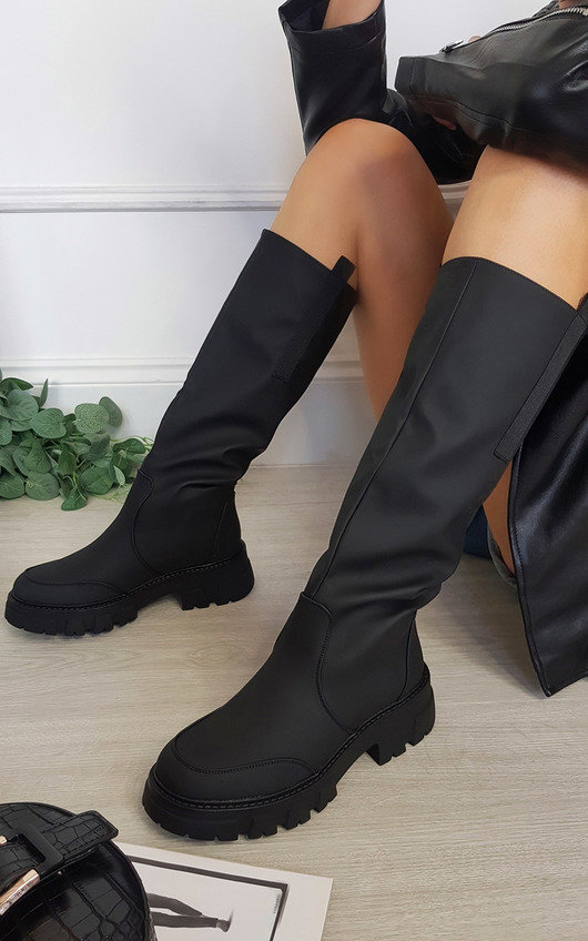 Zora Knee High Chunky Boots