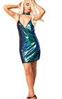 Shellie Sequin Shift Dress Thumbnail
