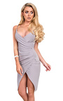 Bella Gathered Bodycon Dress  Thumbnail
