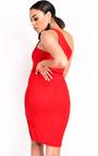 Kirah One Shoulder Bodycon Dress Thumbnail