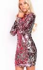 Adele Sequin Bodycon Dress Thumbnail