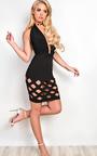Aanya Lasercut Mini Skirt Thumbnail