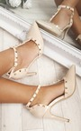 Kalah Patent T-Bar Studded Court Heels Thumbnail