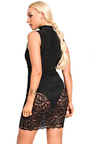 Rosa Lace Bodycon Dress Thumbnail