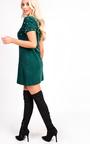 Emmi Short Sleeve Embellished Mini Dress Thumbnail