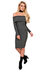 Caitlyn Off Shoulder Bodycon Dress Thumbnail
