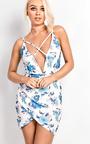 Elina Multi Strap Floral Mini Dress Thumbnail