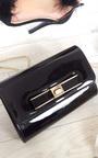 Nadia Metallic Bow Detail Clutch Bag Thumbnail