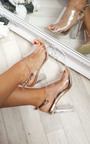 Koko Clear High Heels Thumbnail