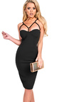 Mylah Strappy Bodycon Dress Thumbnail
