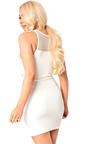 Kira Fishnet Bodycon Dress Thumbnail