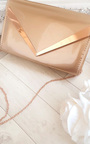 Milla Patent Envelope Clutch Bag Thumbnail