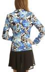Kadence Blue Floral Blazer Thumbnail